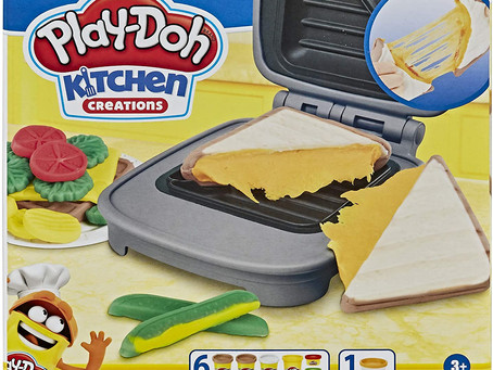 $4.89-Play-Doh Kitchen Creations Cheesy Sandwich Play