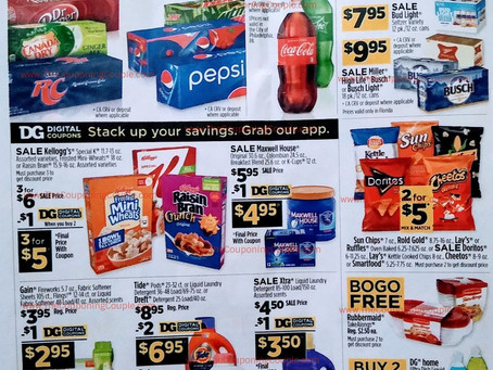 Dollar General Ad Preview 2/28/21 – 3/6/21