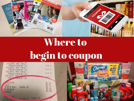 How to Begin Couponing
