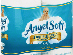 Score Angel Soft for $0.50 per pack at Dollar General