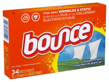 Bounce 60 ct $2.49 starting 10/06 at Rite Aid