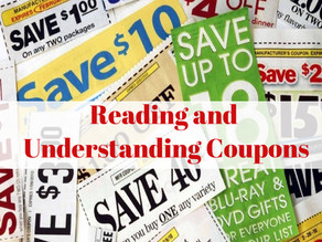 Lesson 2; Reading and Understanding Coupons
