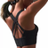 $8.99-50% off Criss-Cross Back Padded Strappy Sports Bra