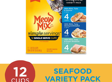 Meow Mix Simple Servings 12 Pack-$4.74
