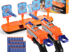 Digital Shooting Target with 2 Foam Dart Toy $14.99