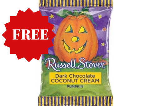 FREE 2 Russell Stover Halloween Singles at Rite Aid starting 09/29