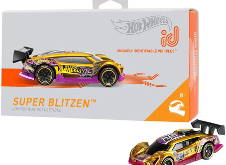 $3.29 Limited Edition-Hot Wheels Super Blitzen