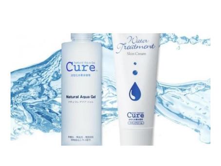 Free Sample of Cure Natural Aqua Gel