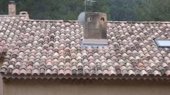 Chantier de Rénovation de Toiture par nos Couvreurs à Aix en Provence plus particulièrement à Saint