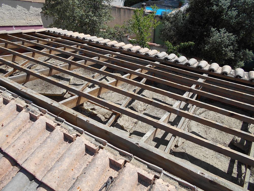 Chantier Rénovation de Toiture par Nos Couvreurs à Lambesc (13100)