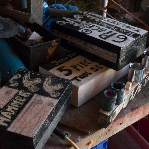 Ceramic Tool boxes