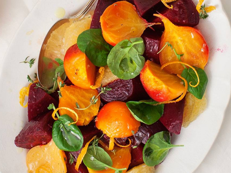 2021 Food Box #11 - Roasted Beets with Citrus Recipe