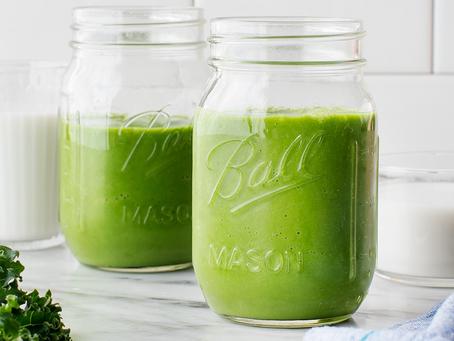 2021 Food Box #8 - Mango Kale Green Smoothie Recipe
