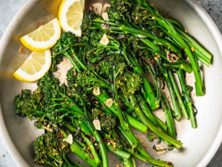 2021 Food Box #7 - Sautéed Garlic Broccolini Recipe