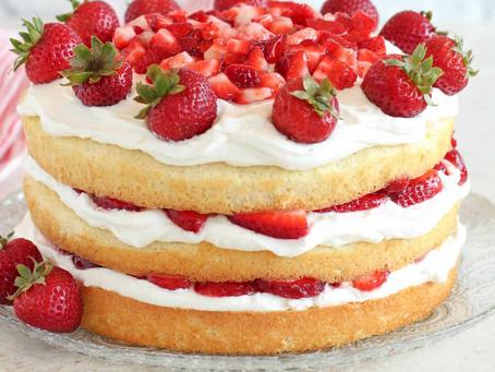 2021 Food Box #5 - Strawberry Shortcake Recipe