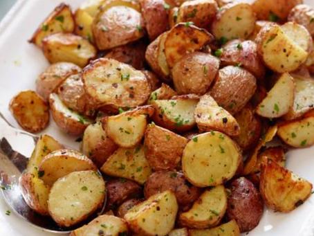 2021 Food Box #10 - Roasted Potatoes Recipe