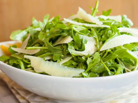 2021 Food Box #5 - Arugula & Fennel Salad with Lemon Salad Dressing Recipe