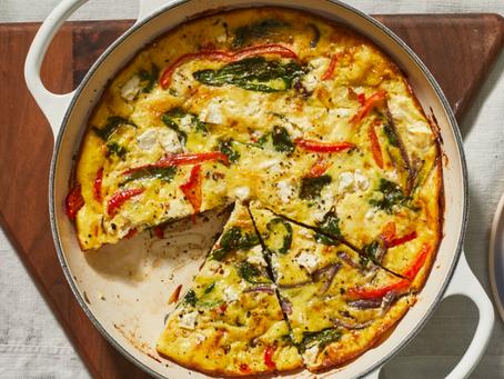 2021 Food Box #14 - Vegetable Frittata Recipe