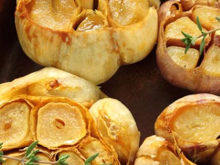 2021 Food Box #10 - Roasted Garlic Recipe