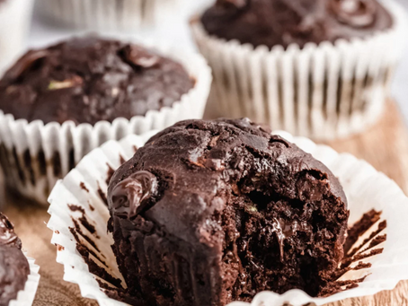 2021 Food Box #9 - Double Chocolate Zucchini Muffins