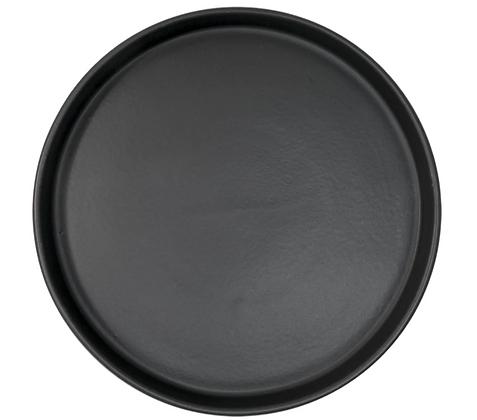 Mediterraneo Plato 27cm Negro Mate