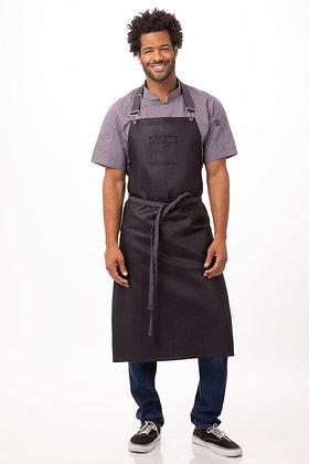 Mandil Boulder Chefs Morado Oscuro