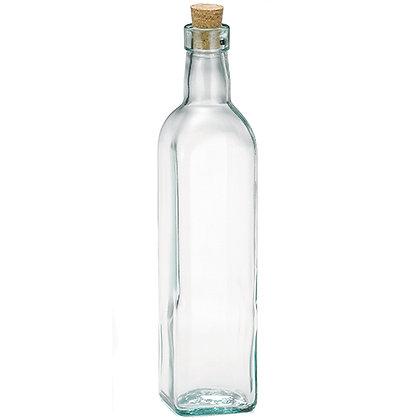 Botella para Aceite con Corcho 16oz