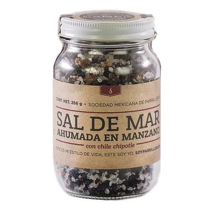Sal Ahumada Leña de manzano Chipotle SMP