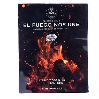 """Recetario """"El Fuego Nos Une"""" Vol. 2"""
