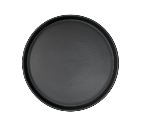 Mediterraneo Plato 19cm Negro Mate