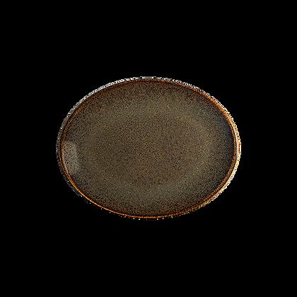 Ore Tierra Plato Ovalado 25cm