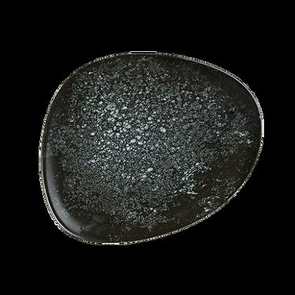 Cosmos Black Plato Vago Bonna 24cm