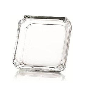 Cenicero Cuadrado de Cristal