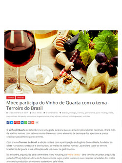 Site saboravida.com.br