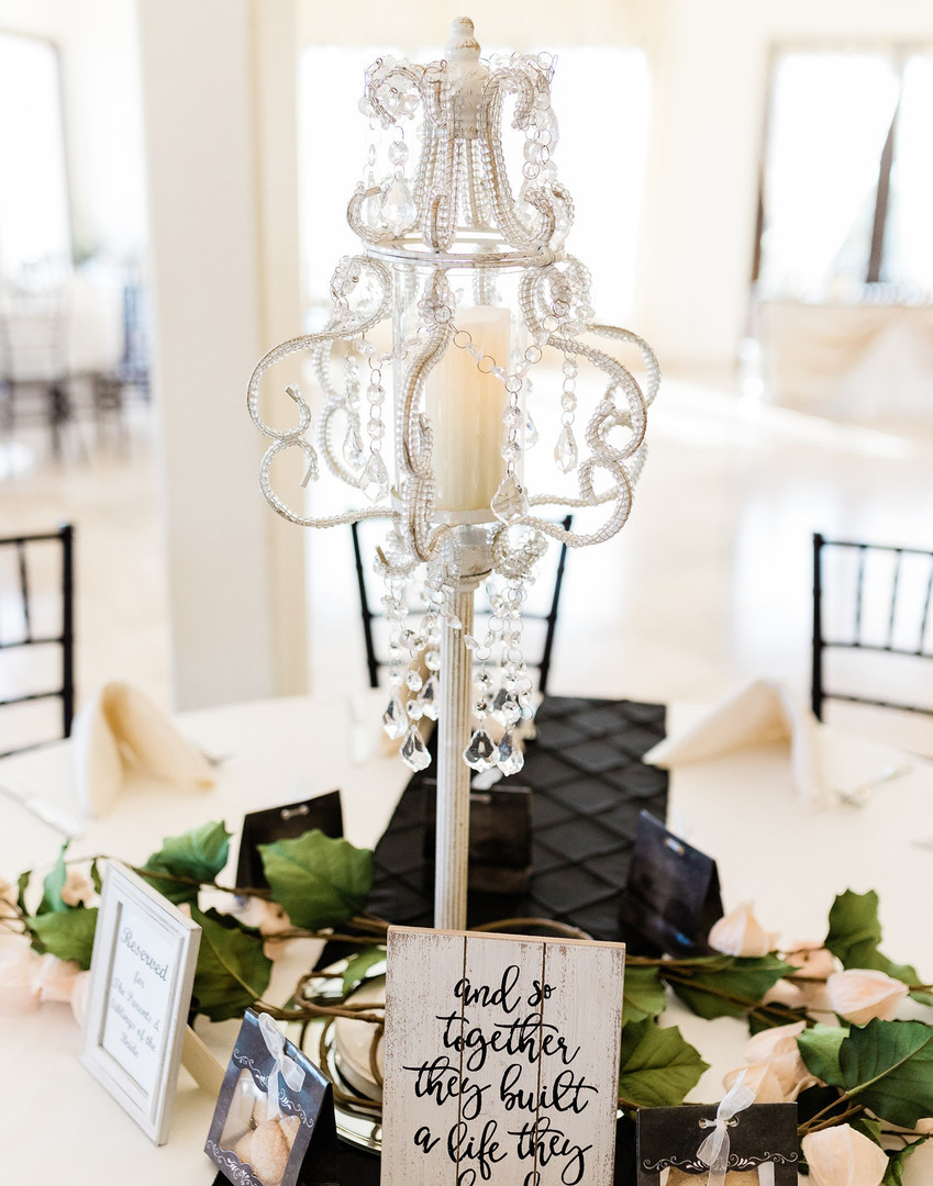 Chandelier Photo By: Nate & Grace Photography