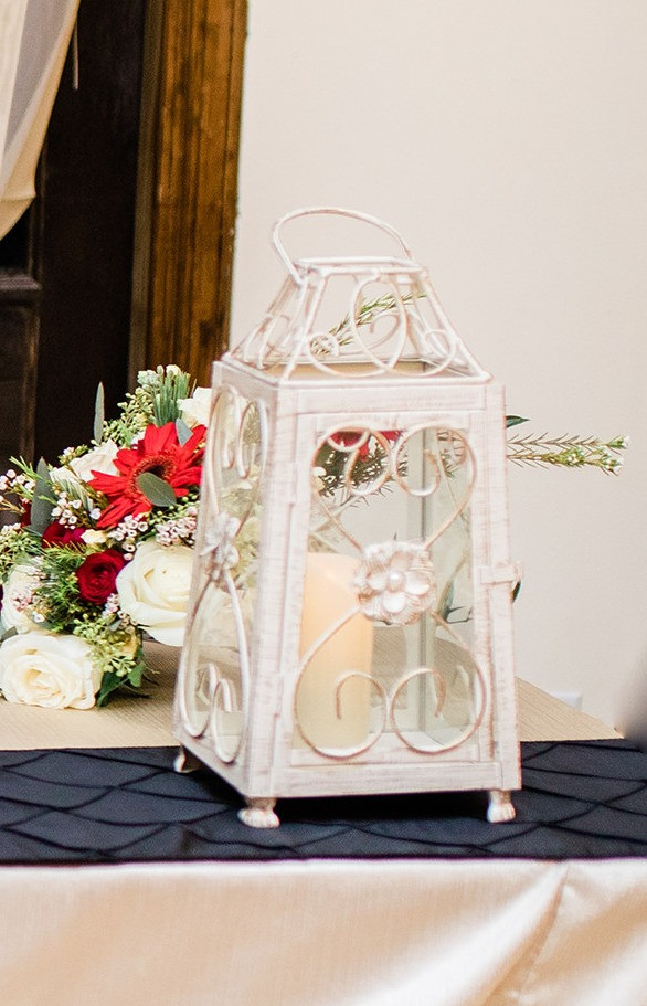 Lantern with Candle Photo By: Nate & Grace Photography
