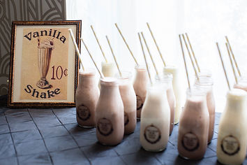 Glamour N'Glitz Events Photography by Mcphereson Milk Shake Bar and favors