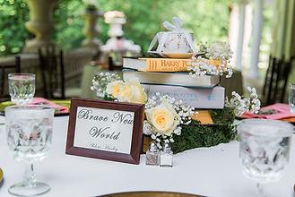 Glamour N'Glitz Events Jennifer Simmons Photography Story book and tea garden wedding