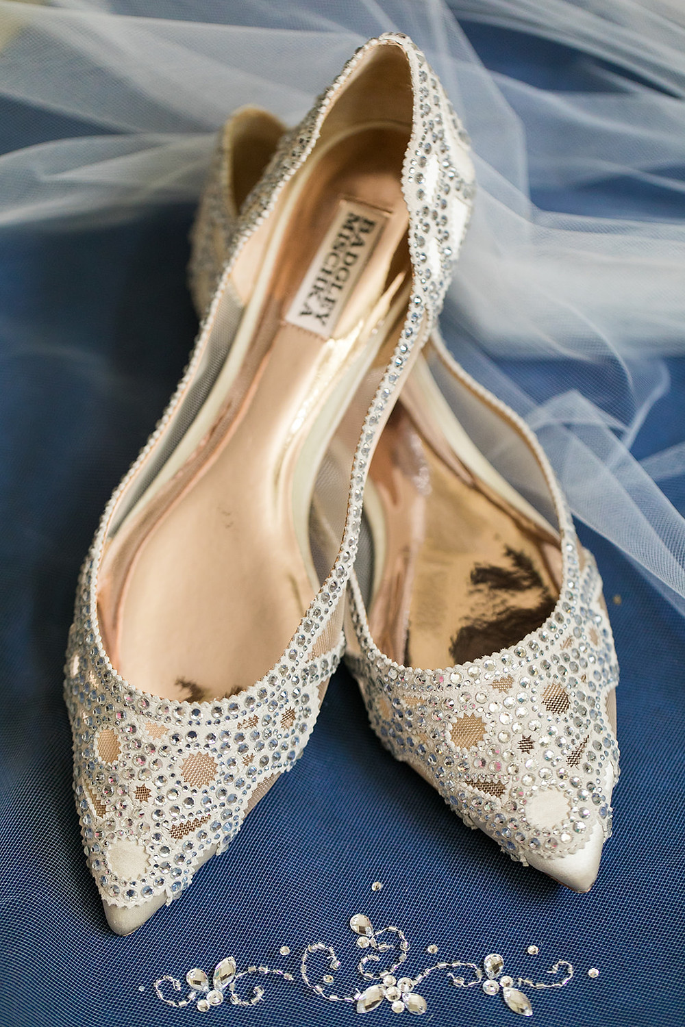 Badgley Mischika bridal shoes