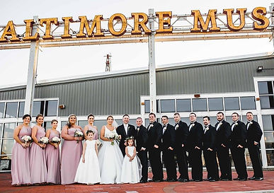 Wedding Party Glamour N'Glitz Events