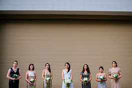 Glamour N'Glitz Event LLC bridal party photoshoot photography by the Oberports