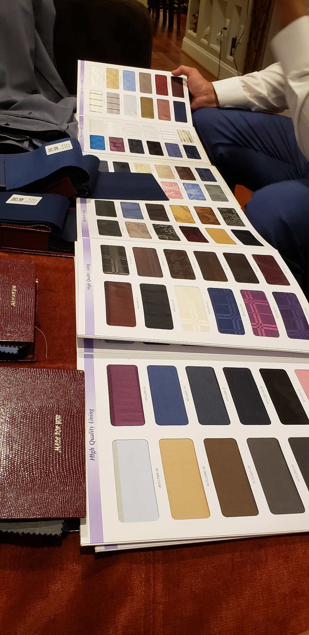 Suit Swatches