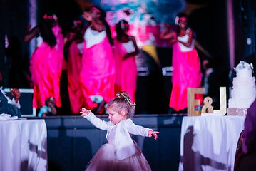 Glamour N'Glitz Events children dancing photography by the Oberports
