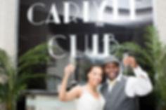Glamour N'Glitz Events LLC Speakeasy wedding locate in Alexandria Virginia