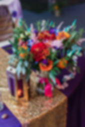 Glamour N'Glitz Events Photography by Lauren C Moroccan Wedding centerpieces