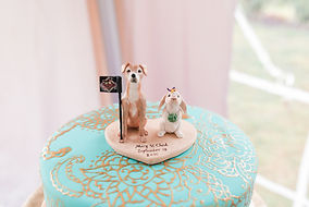 Glamour N'Glitz Events Photography by Lauren c cake topper