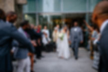Glamour N'Glitz Events Ceremony recessional Photography by the Oberports