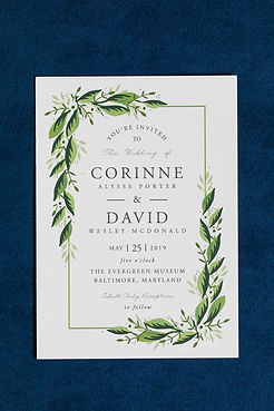 Wedding invitation printed by minted.comPhoto by: Tpoz