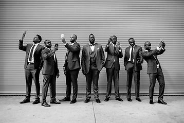 Glamour N'Glitz Events LLC groomsmen shot photography by the Oberports