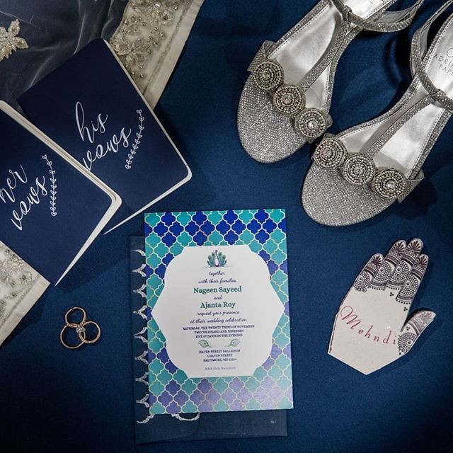 Glamour N'Glitz Events_Baltimore MD_Mike Oswald Photography_Wedding Invitations